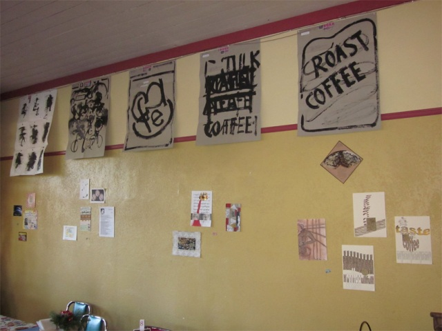 cafe wall