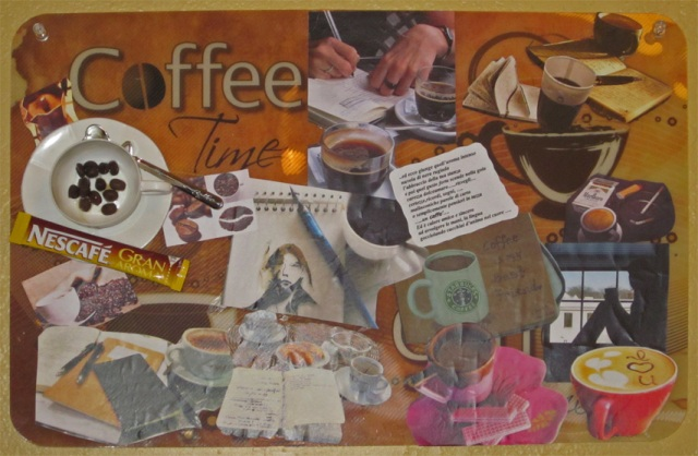 coffee time placemat