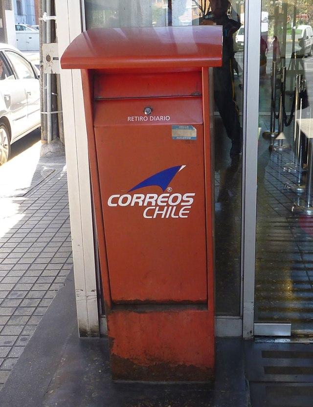 Correos Chile Mailbox, Santiago