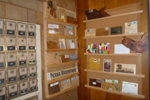 Wooden Postcards at the Stehekin Post Office