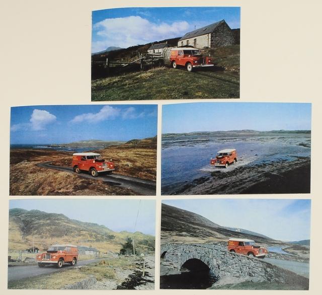 Land Rover Postal Vehicles