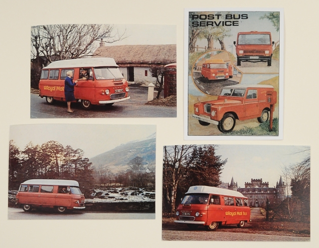 English Post Van Postcards