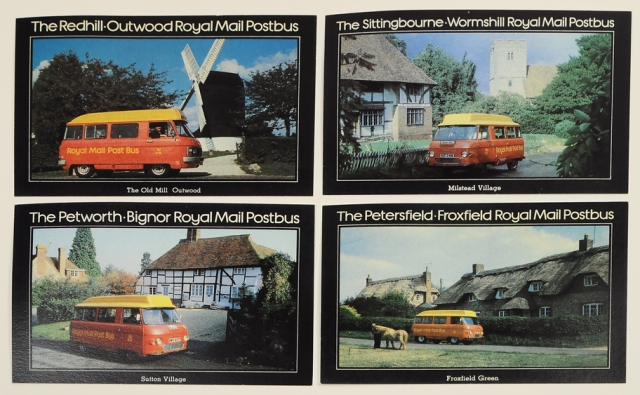 More English Post Van Postcards